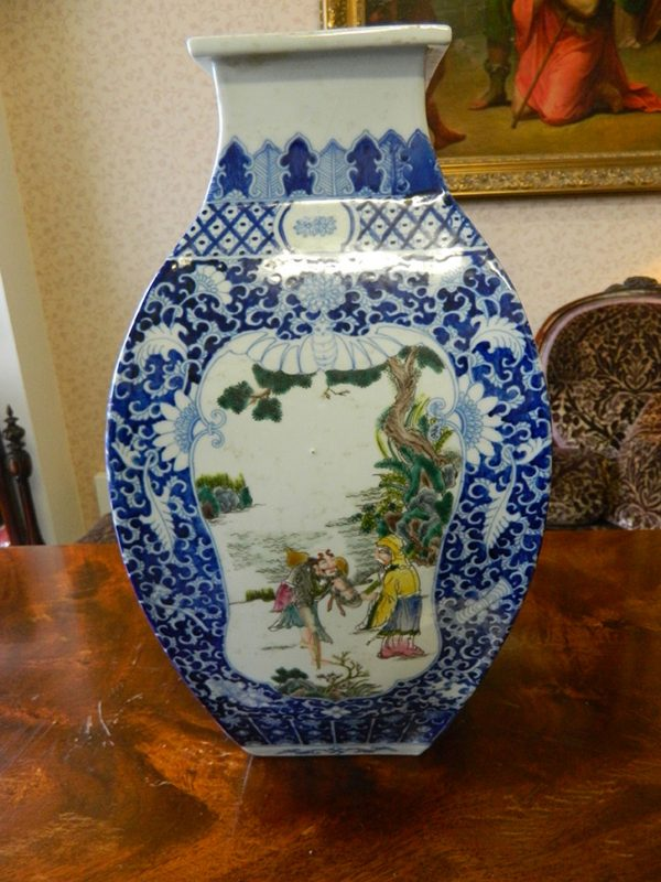 chinese inspired vase