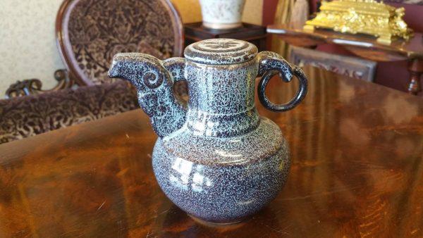 unique teapot antique art piece