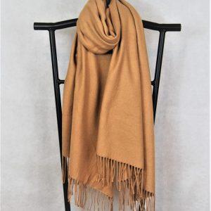 camel winter scarf