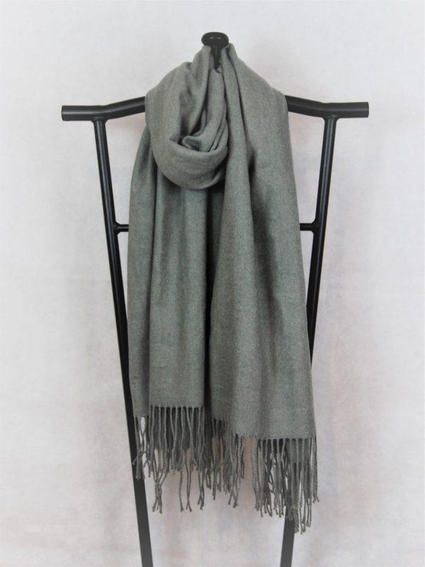 Grey Classic Women's Warm Scarf