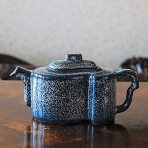 Handmade Porcelain Teapot with Unique Design and Texture