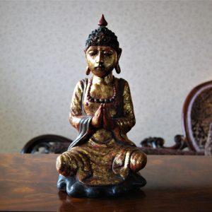 timber buddha