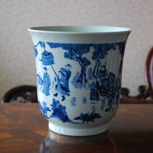 Handmade Porcelain Vase with Stories