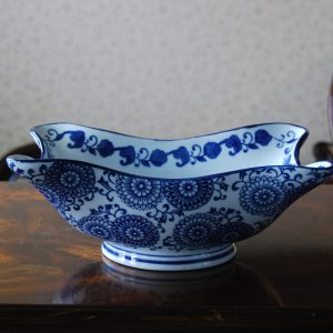 unique porcelain bowl with irregular shape